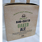 Muntons Hand Crafted Home Brew Beer Kit - Oaked Ale - 40 Pints