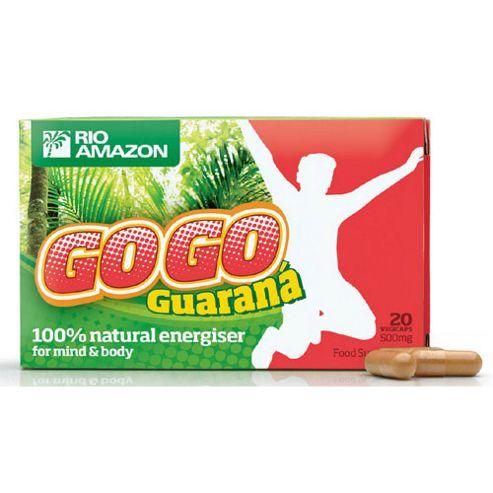 GoGo Guarana 500mg, 20