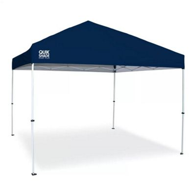 Quik Shade Sport W100 3m x 3m Navy Gazebo Ideal for Gardens, Picnics and Beach
