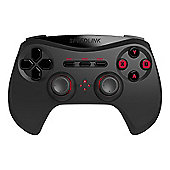 Speedlink Strike Nx Wireless Gamepad For Pc, 10m Range, Black (sl-650100-bk) - PC