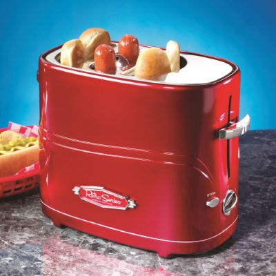 buy retro pop up hot dog toaster from our food makers range - tesco
