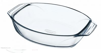 Pyrex Optimum Oval 30cm x 21cm Roaster with Handles