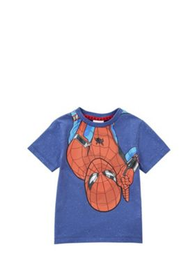 Marvel Spider-Man T-Shirt Blue/Red 4-5 years