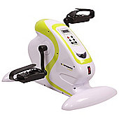 Confidence Fitness Motorized Electric Mini Exercise Bike / Pedal Exerciser White