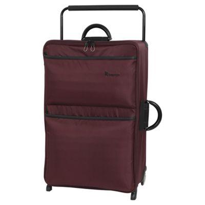 it luggage Worlds Lightest Large 2 Wheel Chocolate Truffle/Black Suitcase