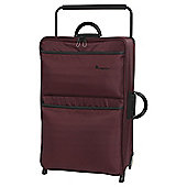 it luggage Worlds Lightest 2 Wheel Chocolate Truffle/Black Large Suitcase