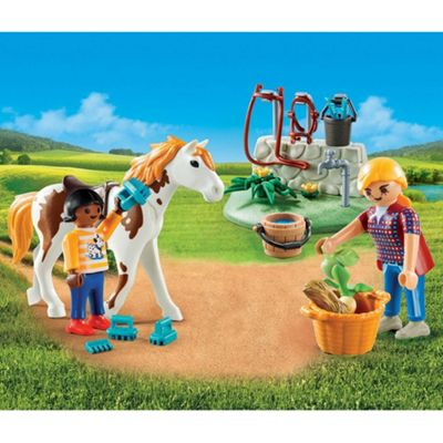 Playmobil Carry Case Country Horse Grooming