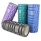 Core Balance Foam Massage Roller - Purple