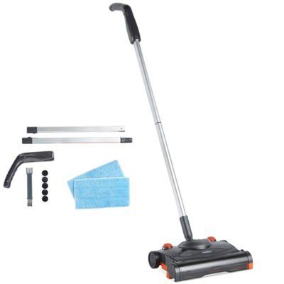 VonHaus Electric Floor Sweeper - Cordless Wireless Rechargeable Broom