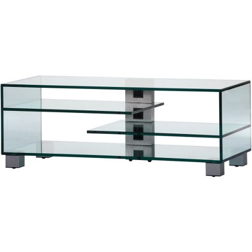 Sonorous Luxury Clear Glass Stand up to 55 inch TVs