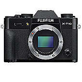 Fuji X-T10 Digital Camera Body - Black