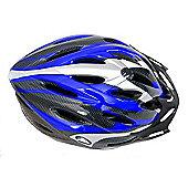 Coyote Sierra Dial Fit Adult Cycling Helmet Blue Medium