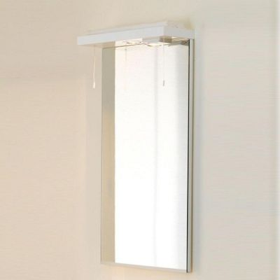 Duchy Trevail Mirror and Wave Action Cornice - 390mm Wide x 120mm Deep
