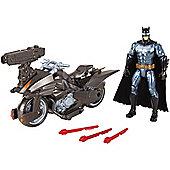 Justice League Batman & Batcycle