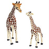 Realistic Giraffe & Calf Figurine Toys by Animal Planet