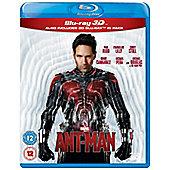 Ant Man 3D & 2D Blu-ray