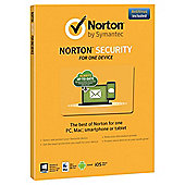 Norton Security 2.0 1 User 1 Device Card