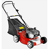 Lawn Mower Briggs & Stratton Powered Petrol Push Propelled Lawnmower - 46cm Cutting Width (LM46P)