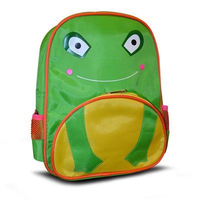 Non Branded Frog Front Pocket School Bag Rucksack Backpack