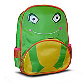 Non Branded Frog Front Pocket School Bag Rucksack Backpack