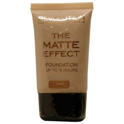 Makeup Revolution The Matte Effect Foundation 25ml - Sand