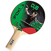 Fox Cub 1 Star Table Tennis Bat With Pimpled-Out Rubber