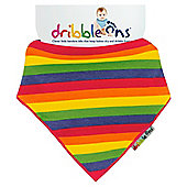 Dribble Ons Designer Rainbow Stripe