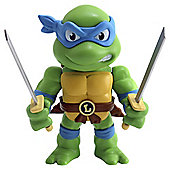 Metals Die Cast Teenage Mutant Ninja Turtles: 4 Inch Figure Leonardo
