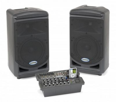 Samson XP308i Portable PA System with iPod Dock