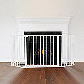 Safetots Multi Panel Fire Surround White 46D x 164W cm