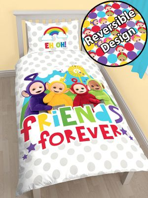 Teletubbies Playtime Single Duvet Cover and Pillowcase Set
