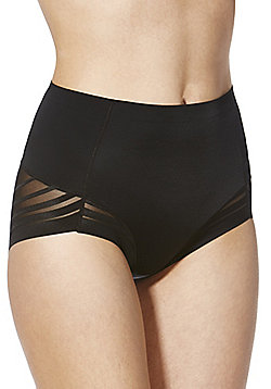 F&F Magic Light Control Selvedge Full Briefs - Black