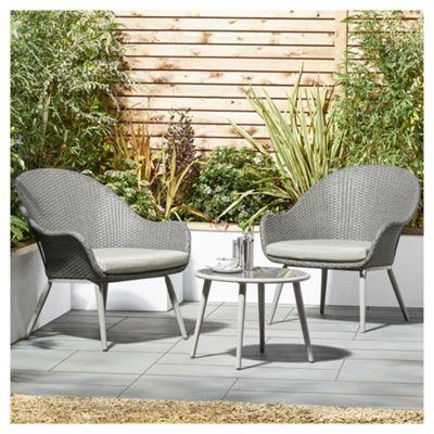 buy tesco san marino curve 3 piece garden bistro set from. Black Bedroom Furniture Sets. Home Design Ideas