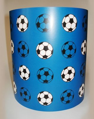 Buy football light shade blue from our lamp shades range tesco football light shade blue mozeypictures Images
