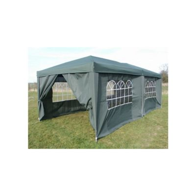 Airwave Pop Up Gazebo Fully Waterproof 6x3m in Green