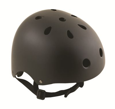 Oxford Bomber BMX Skateboard Bike Cycle Safety Helmet Black Medium 590-BOMBM5