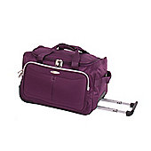 Pierre Cardin Zylo Wheeled Cabin Case - Purple & Light Grey