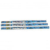 Manchester City 3 Pack Pencil Set