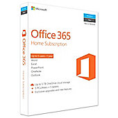 Microsoft Office 365 Home - 1 Year - 5 PCs/MACs/Tablets/Phones