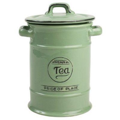 T&G Pride of Place Tea Storage Jar, Green