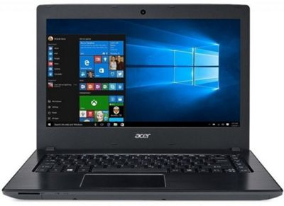 Acer Aspire E5-475, 14, Intel Core i3, 8GB RAM, 1000GB HDD Windows 10 Laptop - Black