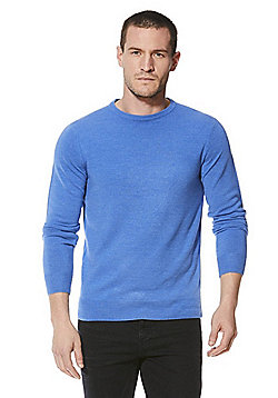 F&F Soft Touch Crew Neck Jumper - Blue