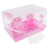 ZD Pets Happy Hamster Pink Activity Cage