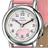 D for Diamond 's Pink Watch