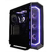 Cube Viper Elite Upgradable Full RGB Gaming PC i7K Six Core Overclocked 16GB RAM 500GB M.2 SSD 4TB HDD GeForce GTX 1080Ti 11GB Windows 10