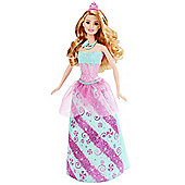 Mattel Barbie Doll - Princess Rainbow Fashion Turquoise Dress (dhm54)