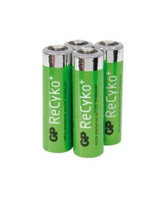 GPI International GP ReCyko+ Micro battery 850 mAH, 4 pc1.2 VHR3, HR03, UO100557,
