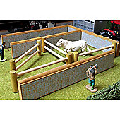 Brushwood Bt2020 Stone Walling And Post & Rails Pack - 1:32 Farm Toys