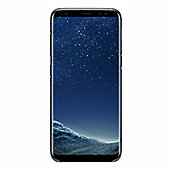 Samsung Galaxy S8 Clear Cover - Black