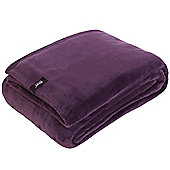 Belledorm Heat Holder Blanket - Mulled Wine